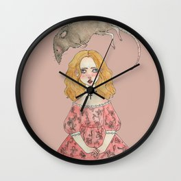 the mouse is my friend Wall Clock