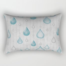 Spring Showers Rectangular Pillow