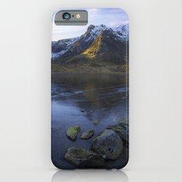 Frozen Lake Idwal iPhone Case