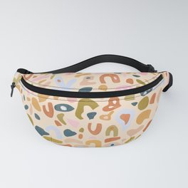 Abstract Paper Cuts Fanny Pack