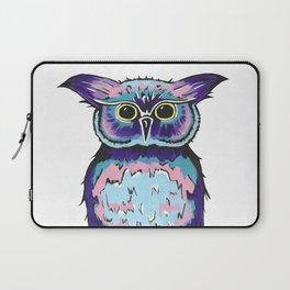 Small Scrappy Owl Laptop Sleeve