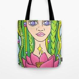 Mother Earth Goddesss Tote Bag