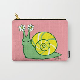 Sweetie Greenie Snail Carry-All Pouch