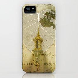 Asia Rain iPhone Case