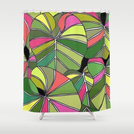 Psychedelic Summer Shower Curtain