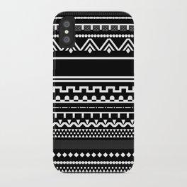 Graphic_Black&White #6 iPhone Case