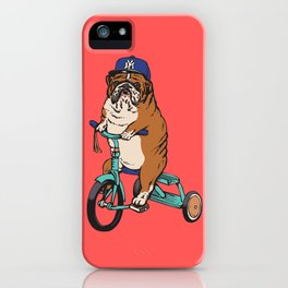 Haters Gonna Hate English Bulldog iPhone Case