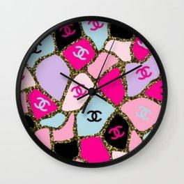 Barbie Tile Wall Clock