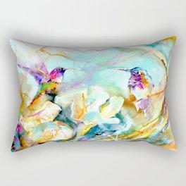 Dawn Greeting Rectangular Pillow