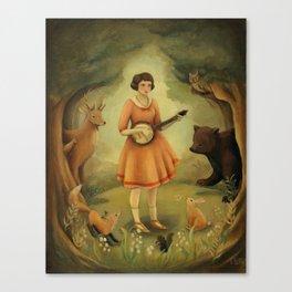 Banjo Recital Canvas Print