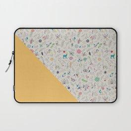 Pez Otomi yellow by Ana Kane Laptop Sleeve