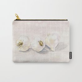 Garlic Watercolor Carry-All Pouch
