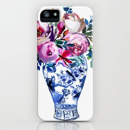 Vivid Chinoiserie Number 3 iPhone Case