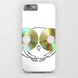 CD Owl iPhone Case