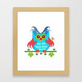 Mr Owl Framed Art Print