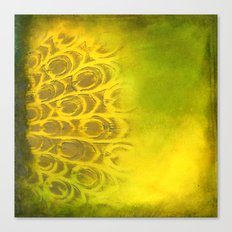 Dirty feathering Canvas Print