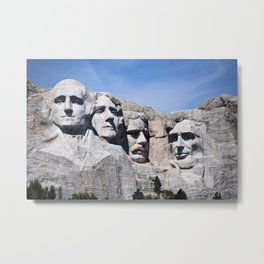 Mt Rushmore Metal Print