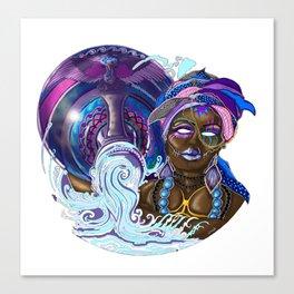 Age Of Aquarius Canvas Print