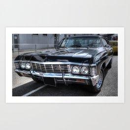 Impala - Supernatural Art Print