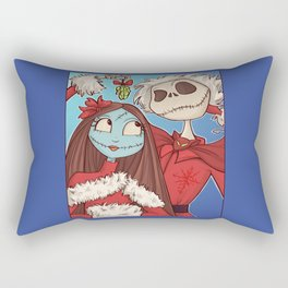 Sally and Jack Rectangular Pillow