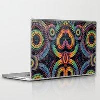 clockwork Laptop & iPad Skins featuring Like Clockwork by Lyle Hatch