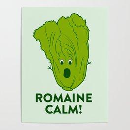 ROMAINE CALM Poster