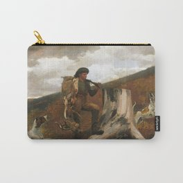 Winslow Homer, A Huntsman and Dogs, 1891 Carry-All Pouch