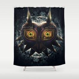 Epic Pure Evil of Majora's Mask Shower Curtain