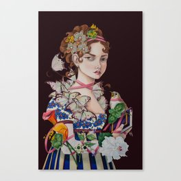 The Ardent Protagonist Canvas Print