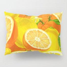 Tropical Fruits Pattern Pillow Sham