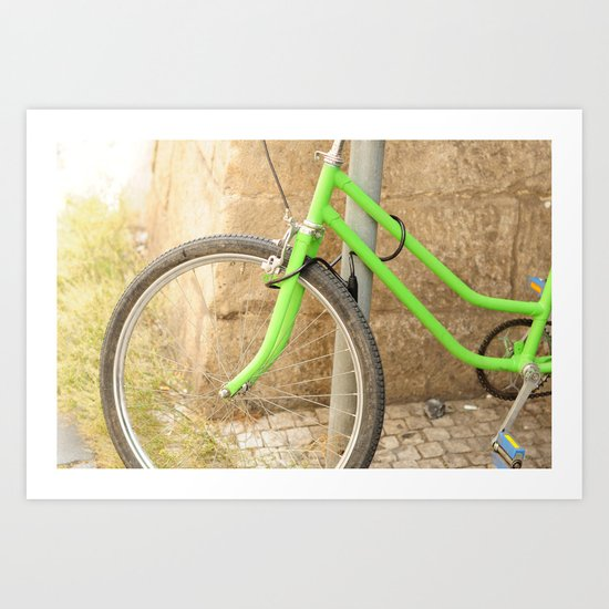 Ride Away with Me Art Print