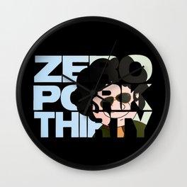 Zero Pork Thirty Wall Clock