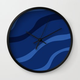 Water Background - Companion to Sand Background Wall Clock