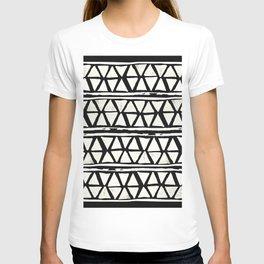 Tribal Geometric Band T-shirt