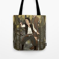 monster inc Tote Bags featuring Smugglers, Inc by Arinesart