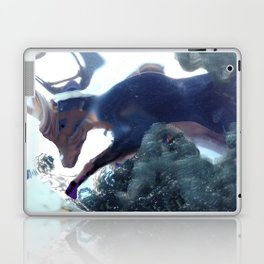 Goat image of the lascaux caves Laptop & iPad Skin