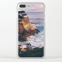 Carmel California Clear iPhone Case
