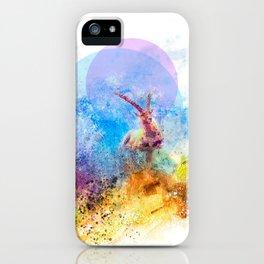 Artiful Ibex iPhone Case