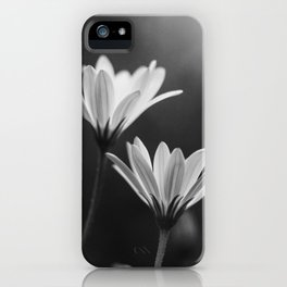 In My Season (Black and White) iPhone Case