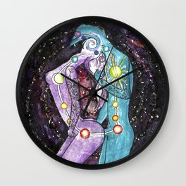 Love is a Vortex - Chakra Spiritual Kundalini Yoga Sex Wall Clock