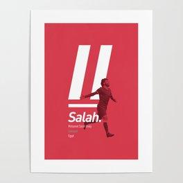Salah Liverpool poster Poster
