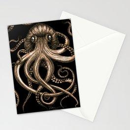 Bronze Kraken Stationery Cards