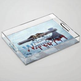 Nordic Warriors Official Logo Acrylic Tray
