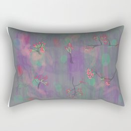 My Purple Spring Rectangular Pillow