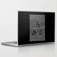 joy division Laptop & iPad Skins featuring Triforce // Joy Division by Daniel Mackey