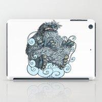 yeti iPad Cases featuring Yeti by David Comito