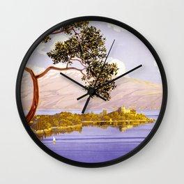 1920 Lake Garda Italy Wall Clock