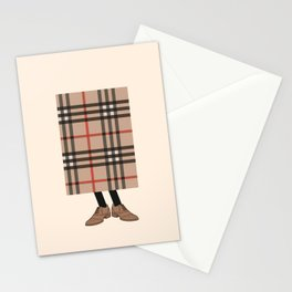 Check out Mr. Check Stationery Cards