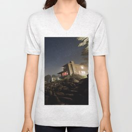 Starry Beach Unisex V-Neck