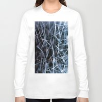 cacti Long Sleeve T-shirts featuring Cacti Confusion by Brian Raggatt